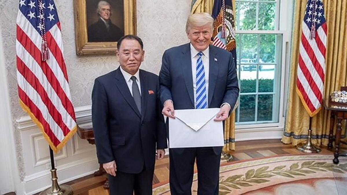 Lịch sử, Donald Trump, Kim Jong-un
