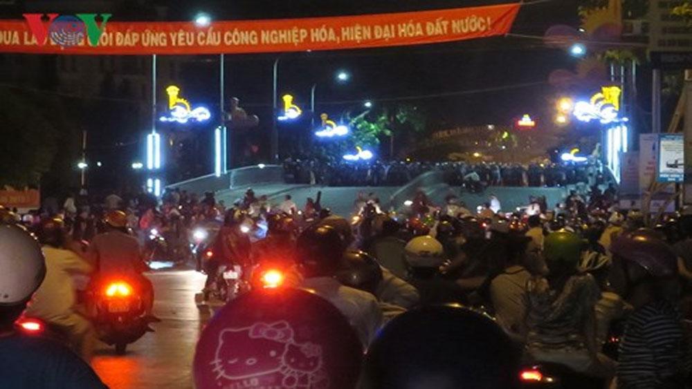 Ngăn chặn cuộc gây rối thứ 2 trước trụ sở UBND tỉnh Bình Thuận