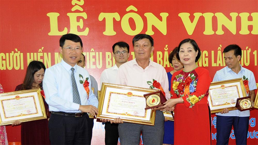 Lan tỏa phong trào, hiến máu tình nguyện, cộng đồng dân cư, ồng chí Lê Ánh Dương, Phó Chủ tịch UBND tỉnh