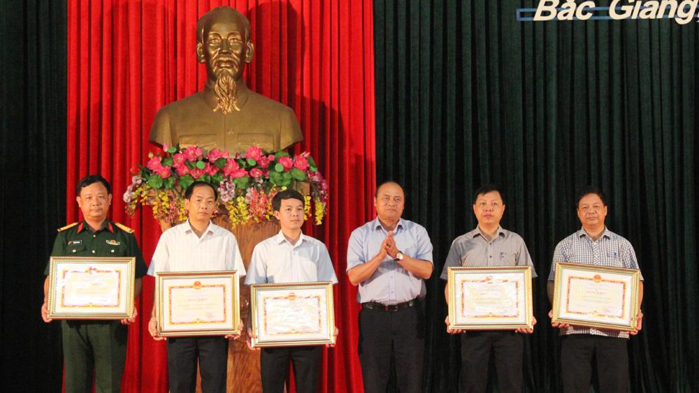 Bắc Giang, tăng cường phối hợp, bảo vệ công trình quốc phòng, khu quân sự