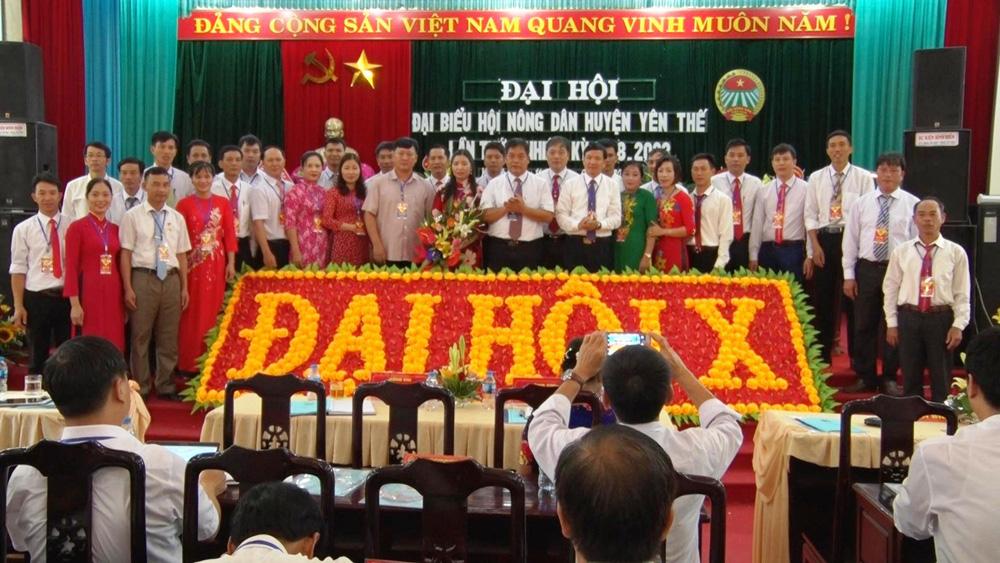 Hội Nông dân huyện Yên Thế: Kết nạp mới hơn 3,6 nghìn hội viên