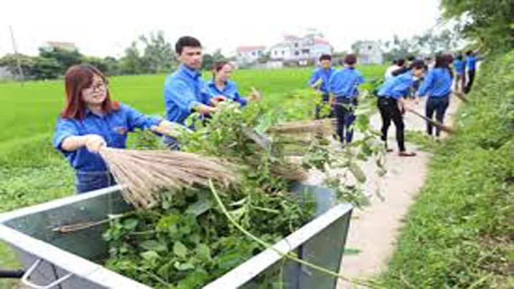 Thành lập mới 64 tổ, đội vệ sinh môi trường