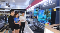 Bắc Giang: Đón mùa World Cup, các loại ti vi tầm trung tiêu thụ mạnh