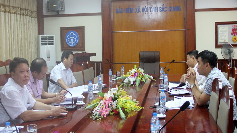 Bắc Giang tăng cường thanh tra các đơn vị nợ bảo hiểm xã hội