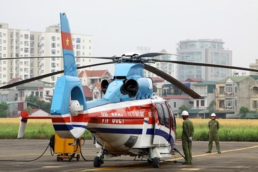 Công an huyện, trang bị, trực thăng
