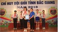 Em Lương Thu Uyên giành giải Nhất Liên hoan Chỉ huy  Đội giỏi toàn tỉnh