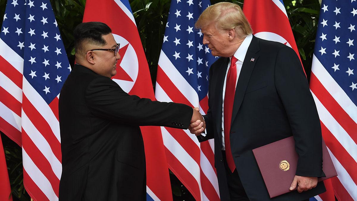 Tiến trình phi hạt nhân hóa, Bán đảo Triều Tiên, Donald Trump, Kim Jong Un