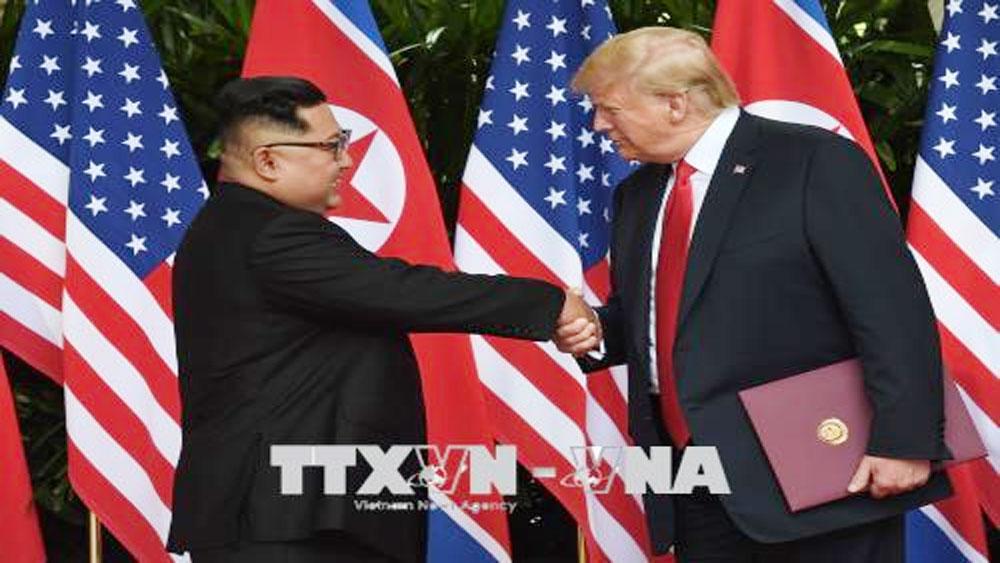 Nhà lãnh đạo Kim Jong-un, Tổng thống Mỹ, Triều Tiên
