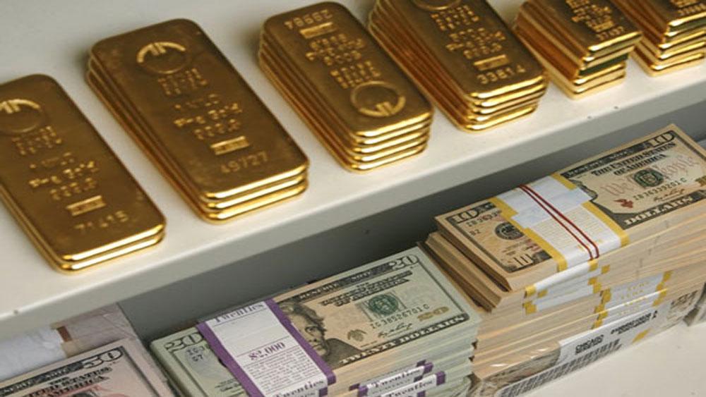 Giá vàng, hôm nay, 13-6, thế giới, xuống dốc, trong nước