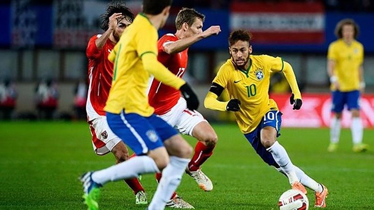 'Làm nóng' World Cup 2018, Đội tuyển Brazil đánh bại Áo 3-0