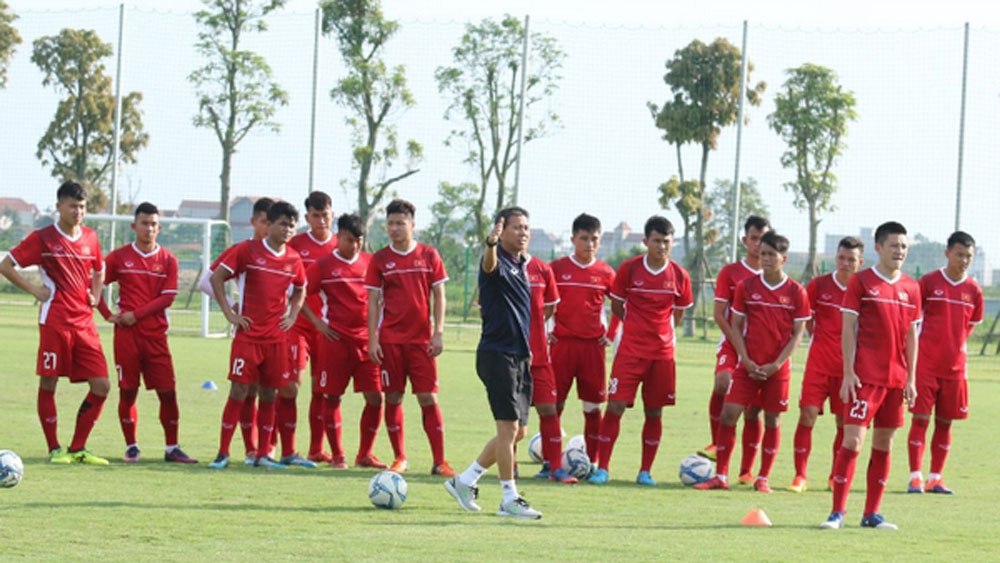 U-19 Vietnam, four-team, friendly tournament, Qatar, Qatar Football Association, 2018 AFC U-19 Championship, training course