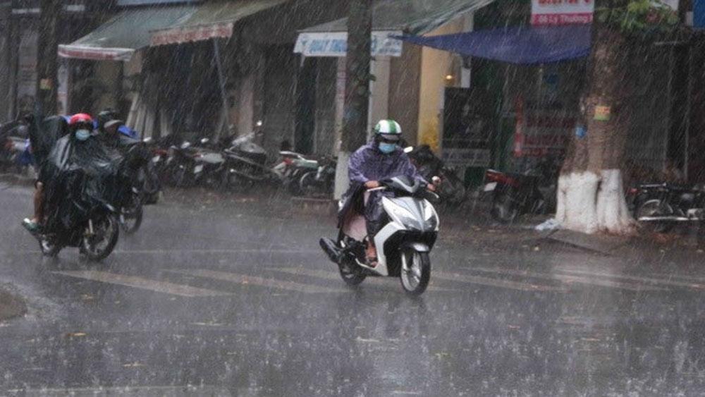 Đêm 13-6, Bắc Bộ đề phòng xảy ra tố, lốc, mưa đá và gió giật