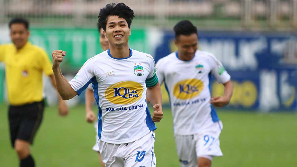 Highlights HAGL thua ngược CLB Quảng Nam dù có 2 bàn thắng đẹp