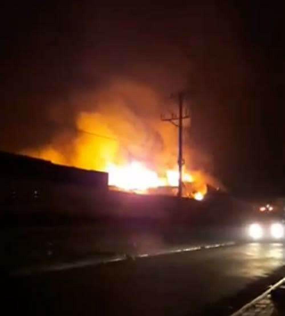 Phú Thọ, cháy dữ dội, khu công nghiệp Thụy Vân, từ đêm đến sáng
