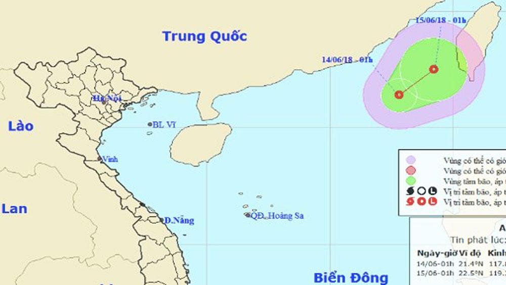 Xuất hiện, áp thấp, nhiệt đới mới, biển Đông