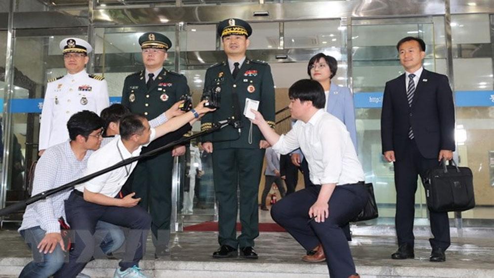 Hàn Quốc, Triều Tiên, bắt đầu, hội đàm, quân sự, cấp tướng