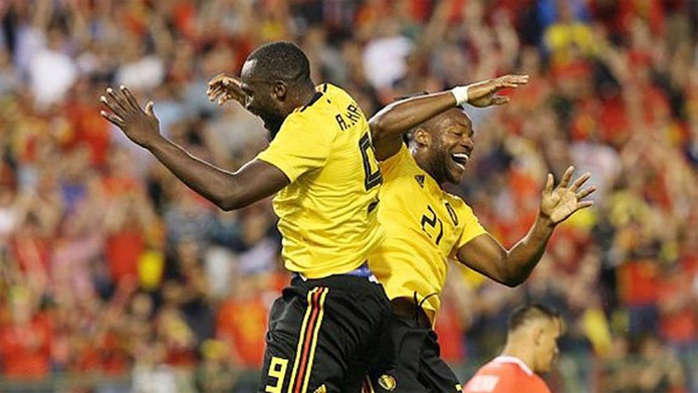 """Lukaku """"nổ"""" cú đúp, Bỉ đại thắng Costa Rica"""