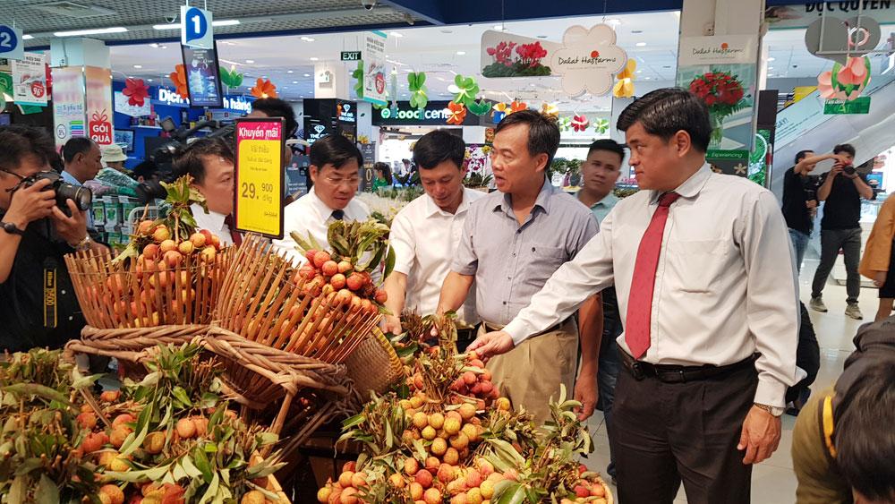 Xúc tiến, tiêu thụ, vải thiều,i TP Hồ Chí Minh