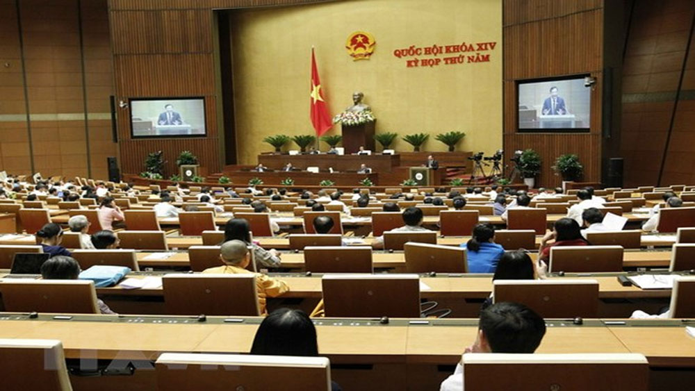 Quốc hội họp phiên toàn thể, bế mạc kỳ họp thứ năm, khóa XIV
