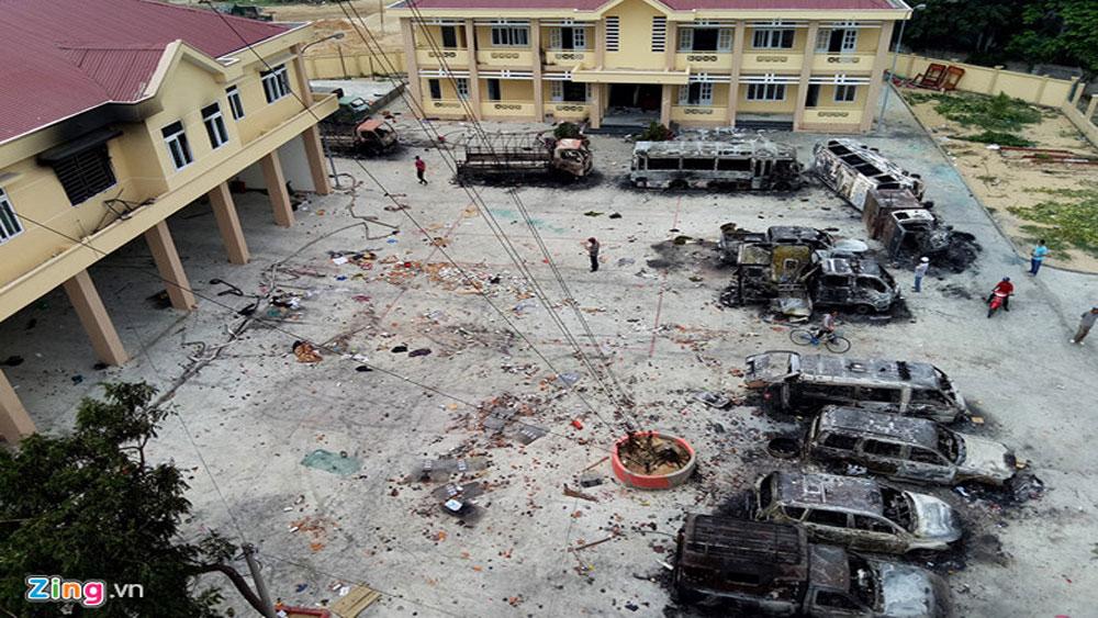 Công an Bình Thuận khởi tố vụ đập phá, gây rối