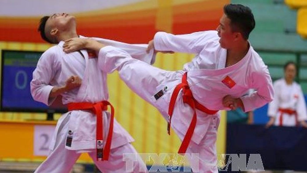 Young karate athletes vie for national titles