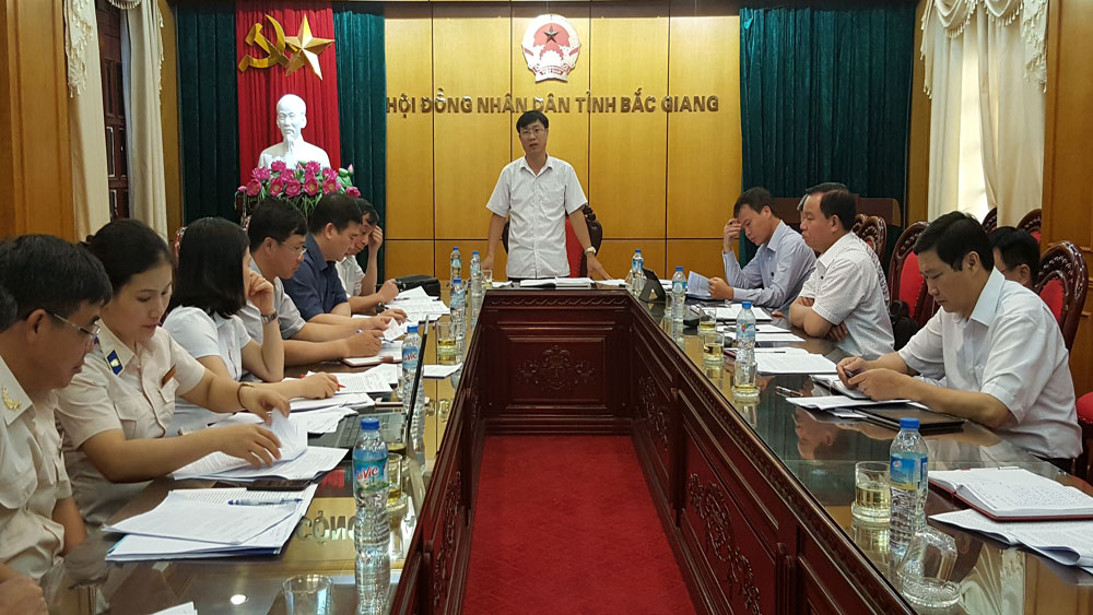 Các ban của HĐND tỉnh, Bắc Giang, thẩm tra một số báo cáo trình kỳ họp thứ 5, HĐND tỉnh khóa XVIII