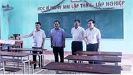 Phó Chủ tịch UBND tỉnh Lê Ánh Dương chỉ đạo: Tiếp tục rà soát, bảo đảm tốt các điều kiện tổ chức kỳ thi THPT quốc gia năm 2018