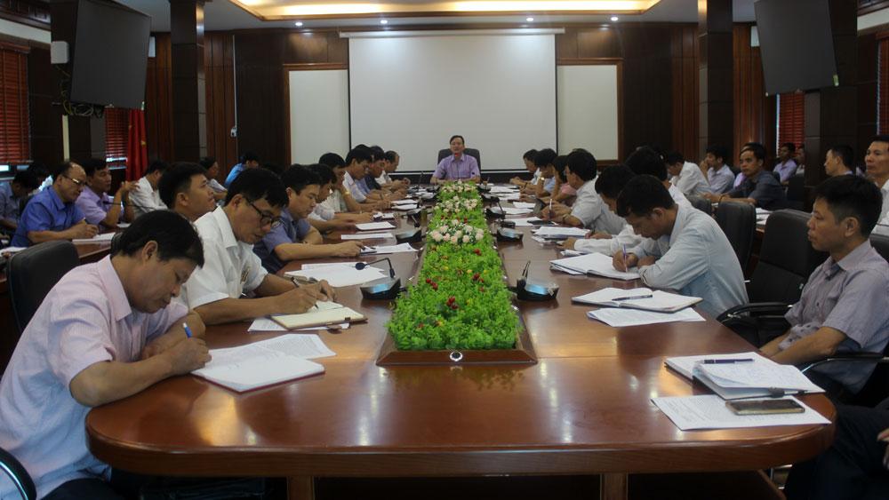 Khẩn trương thực hiện các nhiệm vụ xây dựng huyện nông thôn mới