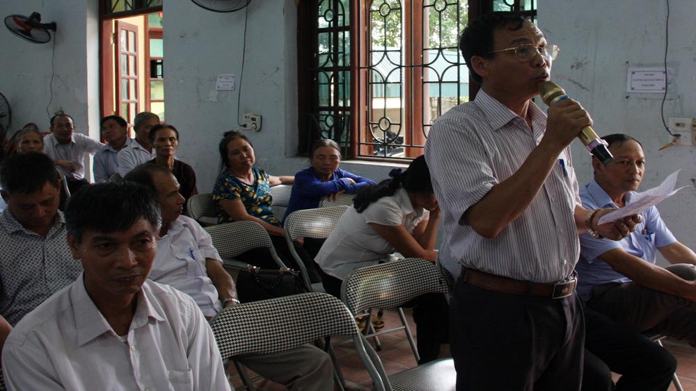 Đoàn Đại biểu Quốc hội (ĐBQH) tỉnh Bắc Giang, kỳ họp thứ 5, Quốc hội khóa XIV, giáo viên, môi trường nông thôn