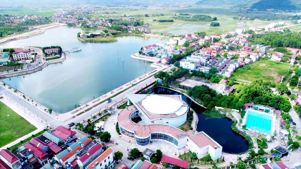 Lục Nam đột phá trong xây dựng hạ tầng
