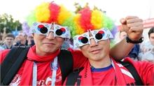 Những cổ động viên gây ấn tượng mạnh tại World Cup 2018