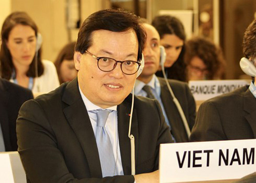 Vietnam, United Nation, Human Rights Council, 38th session, draft solution, women's rights, education services, human trafficking