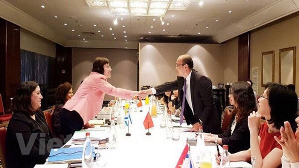 Vietnam, Israel hold fifth round of negotiations on FTA
