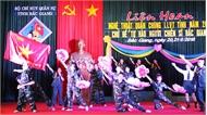 Khai mạc liên hoan nghệ thuật quần chúng LLVT tỉnh năm 2018