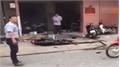 Nổ tại trụ sở công an phường , 1 nữ cán bộ bị thương