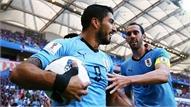Suarez lập kỷ lục, Uruguay đoạt vé vào vòng 1/8