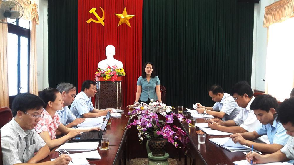 Ủy ban MTTQ tỉnh Giám sát công tác thu hồi, bồi thường, hỗ trợ tái định cư khi thu hồi đất ở Lạng Giang