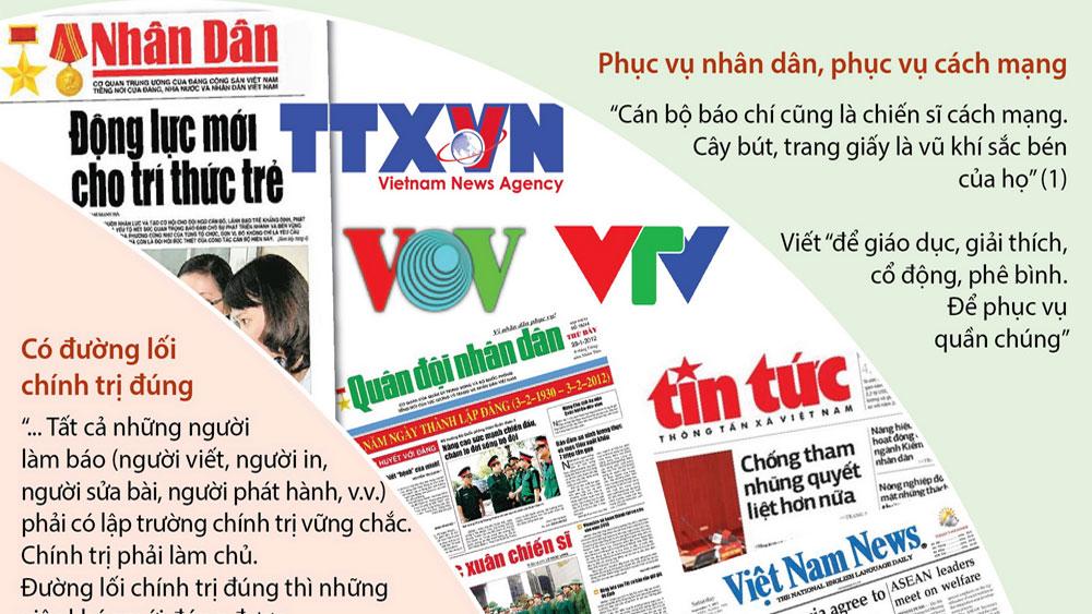 Lời căn dặn của Chủ tịch Hồ Chí Minh với người làm báo