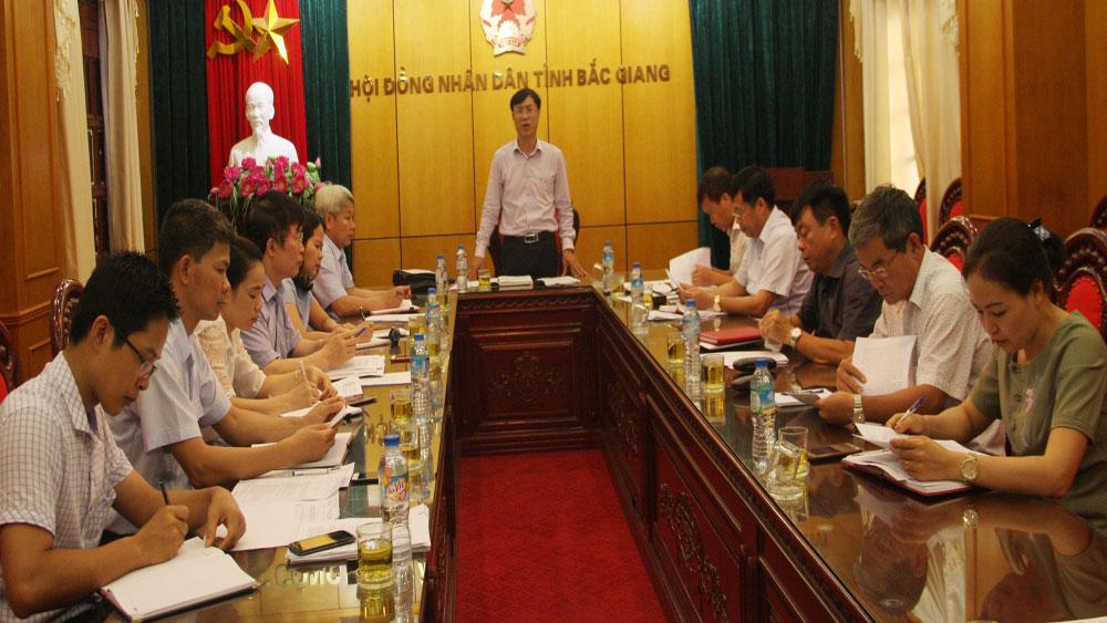 Ban Pháp chế, HĐND tỉnh thẩm tra một số báo cáo, dự thảo nghị quyết trình kỳ họp thứ 5, HĐND tỉnh