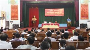 Huyện ủy Hiệp Hòa sơ kết giữa nhiệm kỳ