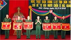 Trao giải Nhất cho đội thi huyện Tân Yên