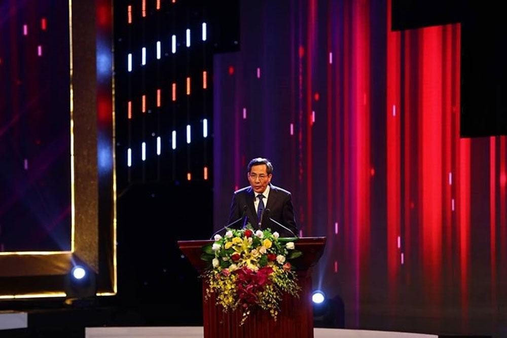 Lễ trao giải, Báo chí Quốc gia 2017, Cung văn hóa Hữu nghị Việt Xô, Hà Nội, đồng chí Thuận Hữu, Báo Nhân Dân, Hội Nhà báo Việt Nam