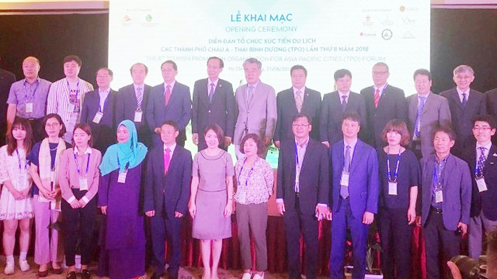 Vietnam hosts Asia Pacific cities' tourism promotion forum for the first time