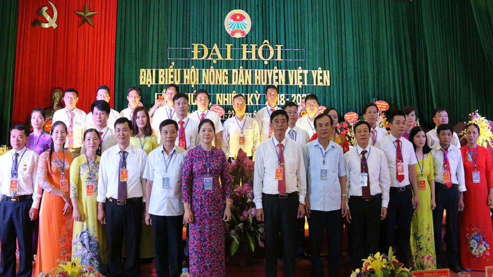 Đại hội Đại biểu Hội Nông dân huyện lần thứ X, nhiệm kỳ 2018-2023