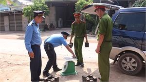Lục Ngạn: Phát hiện, xử lý hơn 100 vụ vi phạm thương mại