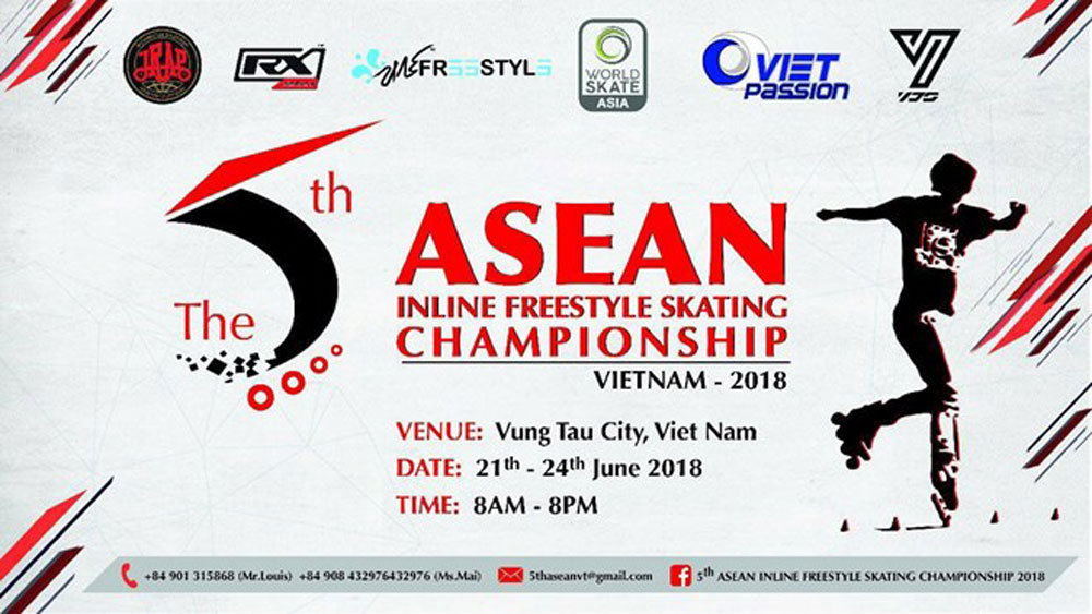 120 skaters show off skills at 5th ASEAN champs