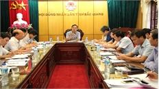 Đảng Đoàn HĐND tỉnh: Thẩm định một số dự thảo văn bản