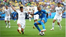 Ghi 2 bàn phút bù giờ, Brazil thắng kịch tính Costa Rica