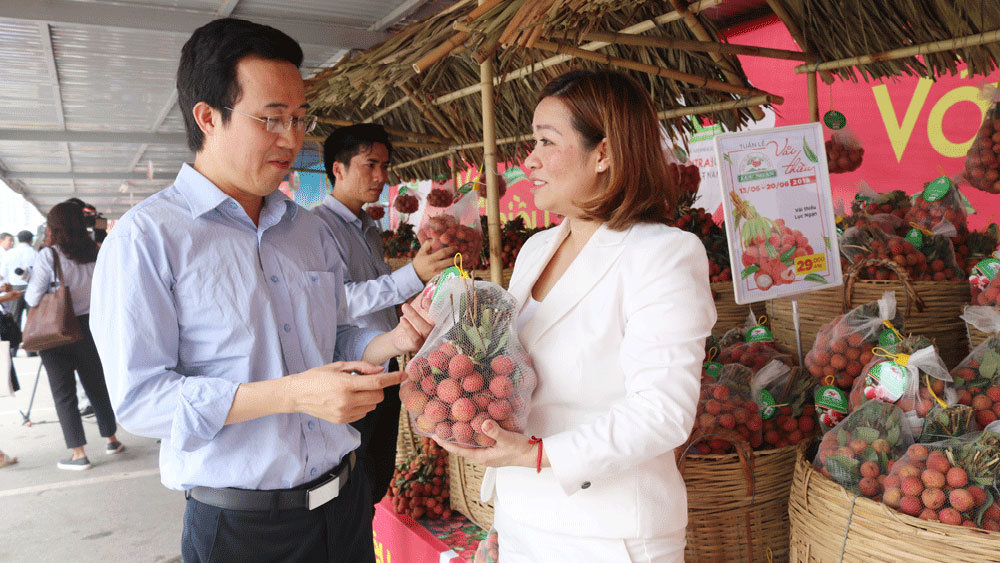 Big C helps Bac Giang lychees reach farther