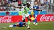 Musa lập cú đúp, Nigeria 'quật ngã' Iceland